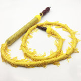 Yellow Whip Design Wooden Hookah Shisha Narghile Tuyau de tuyaux (ES-HH-007)