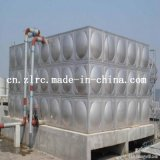 Отжатая гальванизированная сталью цистерна с водой бака для хранения воды холодная