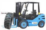L-Guardar pneus contínuos do Forklift de borracha 7.00-12 6.50-10 Pneu Plein