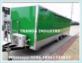 2017 신형 식사 기계 또는 체더링 트럭 이동할 수 있는 음식 트럭
