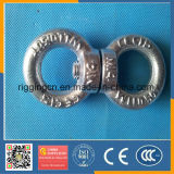 DIN580 / 582 Galvanisé Hot Forged Liting Eye Bolt / Nut