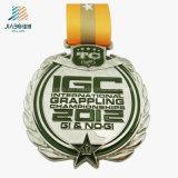 ホーム装飾はエナメルの青銅色のスポーツの円形浮彫りのトロフィの記念品メダルを制作する