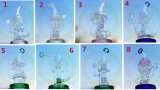 Neuer Entwurfs-gerader Gefäß-Huka-China-Fabrik-Großverkauf-Glaswasser-Pfeife-Glasrohr-Hoheit-Glas