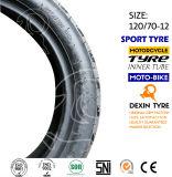El sur de la motocicleta del neumático del deporte de América parte el neumático 120/70-12 de la motocicleta del neumático de la motocicleta de la vespa