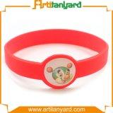 Wristband por atacado do silicone da lembrança da forma
