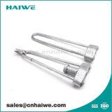 Esticador ajustável permanecer haste para pólo de Hardware de Linha
