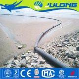 Dunne modder/Zand die Pijp voor het Uitbaggeren Project lossen