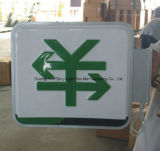 Signage ao ar livre acrílico da caixa leve de Thermoforming