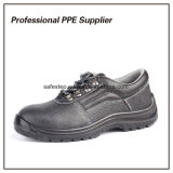 そぎ皮の鋼鉄つま先の人作業靴