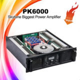 Pk6000 PA Subwooferの可聴周波専門力Amplifier