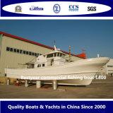 Langosta del barco de pesca del barco de pesca comercial