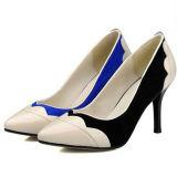 Elegante PU a mediados de la mujer zapatos de tacón de Oficina (A166403790)