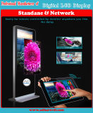 Visualizzatori digitali dello schermo del sistema di media di modo affissione a cristalli liquidi che fanno pubblicità allo schermo commovente dell'affissione a cristalli liquidi del contrassegno