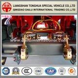 3 Semi Aanhangwagen van de Zijwand van de Straal van assen de Rechte met Hoge Kolom