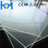 3.2mmは平らなアークの極度の白の超明確な太陽電池パネルガラスを和らげた