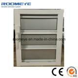 Ventana de aluminio de cristal vendedora caliente del obturador de la ventana de la lumbrera de Roomeye Matt
