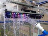 27LEDs 3W RGB LED al aire libre arandela de la pared Luz
