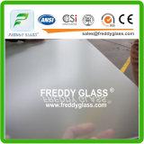 2-12mmのゆとりの酸はガラスか曇らされた装飾的なガラスまたは単一の二重側面が付いている浴室のガラスまたはドアガラス緩和されたまたは安全ガラスエッチングした