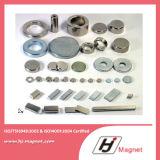 Anello su ordinazione magnete permanente neodimio/di NdFeB del neodimio permanente diplomato ISO/Ts16949 di N30-N35ah per i motori