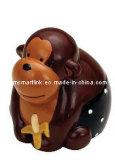 원숭이 모양 동전 은행, 동물성 모양 돈 상자