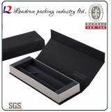 Caja de presentación plástica de empaquetado del embalaje del rectángulo de la pluma de la visualización del papel del rectángulo de la pluma del regalo del lápiz de madera (Ys12B)