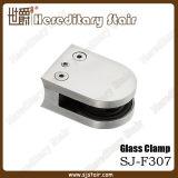 手すりの付属品(SJ-F307)のためのD形のステンレス鋼のガラスクランプ