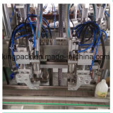 Het Vullen van het flesje Machine, de Vuller van het Flesje, het Afdekken van het Flessenvullen van 150 Ml Plastic Machine
