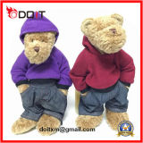 Doutor Teddy Bear Stuffed Plush Doctor Uniforme Teddy Bear