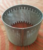 304 316 cylindres agglomérés de filtre de treillis métallique d'acier inoxydable