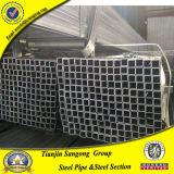 Pré pipe carrée en acier 20X50X1.0~2.0 de Gavanized
