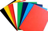 Feuille noire de mousse de PVC de couleur