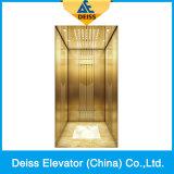 Elevatore lussuoso della casa della villa del passeggero dell'azionamento della trazione di Vvvf