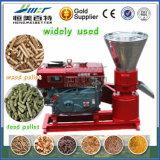 una piccola energia di produzione parte il laminatoio della macchina della pallina del gambo della paglia del cereale del circuito di collegamento