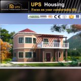 La casa prefabricada económica de la instalación fácil contiene coste con de tres habitaciones