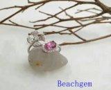 Кольцо стерлингового серебра Ювелирные изделия-Topaz (R0274)