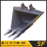 Cubeta trapezoidalmente da vala da cubeta V da máquina escavadora aprovada do GV do ISO