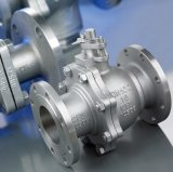 2PC Flanged Ball Valve (Roestvrij staal rf Flanged Connect)