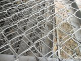 Frontière de sécurité galvanisée de maillon de chaîne