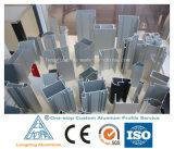 Fabrik-kundenspezifisches Aluminiumlegierung-Profil für Blendenverschluss-Fenster-Blendenverschluss-Tür