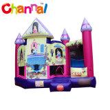 Princess Inflatable Jumping Bouncer château avec la diapositive