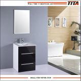 Reino Unido alto brillo de la unidad de tocador baño MDF TM302A
