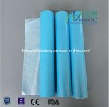 Rodillo disponible de papel respetuoso del medio ambiente de la hoja de base del hospital médico