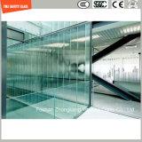 blanc de 4.38mm-52mm/gris clair/bleu/jaune/PVB en bronze, verre feuilleté de sûreté de Sgp avec le certificat de SGCC/Ce&CCC&ISO pour la balustrade, opération d'escalier, partition,