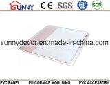 Panneau de mur Plafond-PVC de estampage chaud de Panneau-PVC de PVC pour la décoration