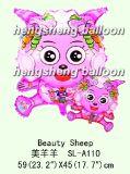 Balão do hélio dos desenhos animados (10-SL-337)