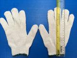 Высокое качество 10 белого цвета в отрасли безопасности хлопка вязаные рукавицы
