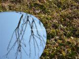Polished rotondo/ha smussato l'alluminio dei bordi/specchio d'argento Furiniture/specchio decorativo