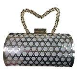 チェーンEveningbagの金属のクラッチの方法党袋