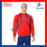 Plaine Hoodie d'impression d'écran en soie de vêtements de sport de modèle de mode de Healong