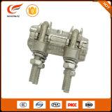Niederspannungs-obenliegende Zeilen Aluminiumschrauben-Aufhebung-Kabelschelle